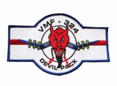 VMF-324 Devil Pack Patch – Plastic Backing
