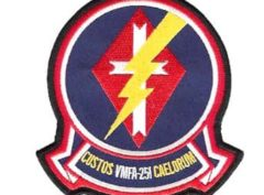 VMFA-251 Thunderbolts Patch – Plastic Backing