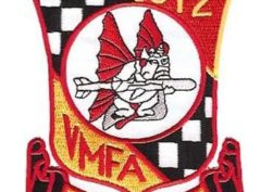 VMFA-312 Checkerboards Patch – Sew On