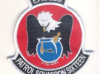 VP-16 War Eagles Squadron Patch – Plastic Backing