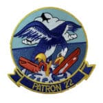 VP-22 Blue Geese Squadron Patch – Sew On