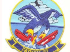 VP-22 Blue Geese Squadron Patch – Plastic Backing