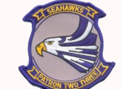 VP-23 Seahawks Squadron Patch – Plastic Backing