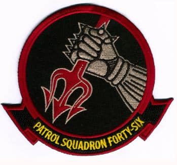 VP-46 Grey Knights Squadron Patch – Plastic Backing