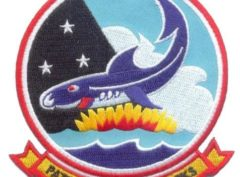 VP-6 Blue Sharks Squadron Patch – Sew On