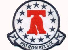 VP-66 Liberty Bells Squadron Patch – Plastic Backing