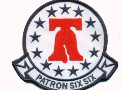 VP-66 Liberty Bells Squadron Patch – Plastic Backing