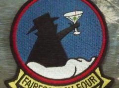 """VQ-4 """"Friday"""" Martini Patch – Plastic Backing"""