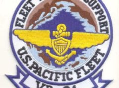 VR-21 Pineapple Express Squadron Patch – Plastic Backing