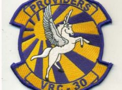VRC-30 Providers Squadron Patch – Plastic Backing