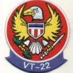 VT-22 Golden Eagles Squadron Patch– Plastic Backing