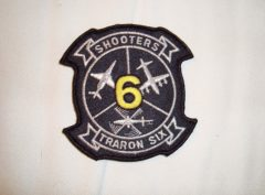 VT-6 Shooters Squadron Patch – Plastic Backing