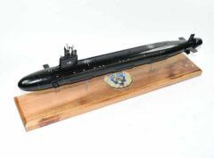 USS John Warner (SSN-785) Block III Submarine Model