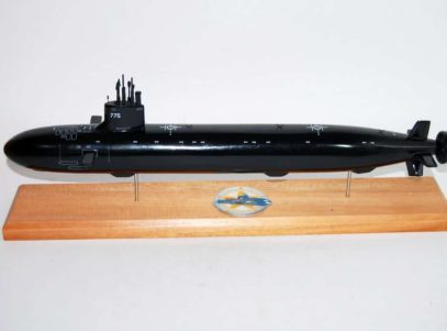 USS Texas (SSN-775) Submarine Model