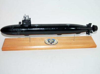 USS John Warner (SSN-785) Submarine Model