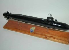 USS Illinois (SSN-786) Submarine Model