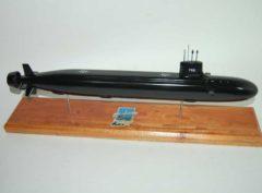 USS Indiana (SSN-789) Submarine Model