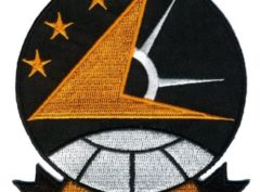 VA-115 Eagles Squadron Patch – Plastic Backing