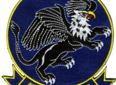 VA-153 Blue Tails Squadron Patch – Plastic Backing