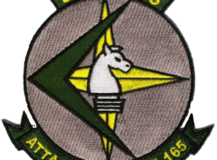 VA-165 Boomers Squadron Patch – Plastic Backing