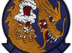 VA-192 Golden Dragons Squadron Patch – Plastic Backing