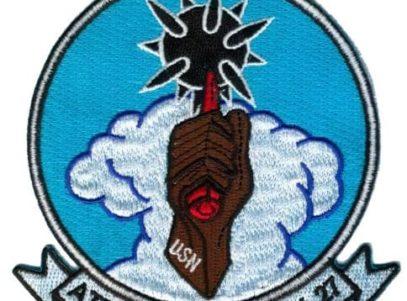 VA-27 Royal Maces Squadron Patch – Plastic Backing