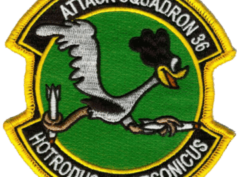 VA-36 Roadrunners Patch – Plastic Backing