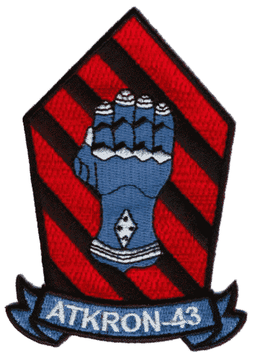 VA-43 Challengers Patch – Plastic Backing