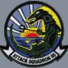 VA-95 Green Lizards Squadron Patch – Plastic Backing
