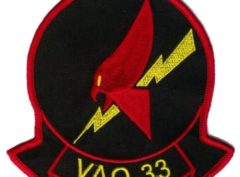 VAQ-33 Firebirds Squadron Patch – Plastic Backing