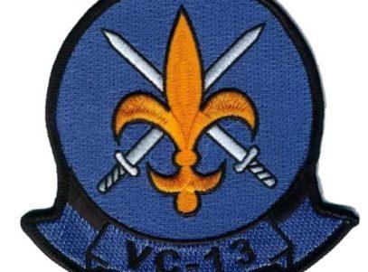 VC-13 Saints Squadron Patch – Plastic Backing