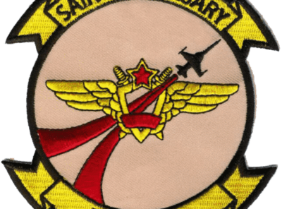 VFC-13 Saints (Tan) Squadron Patch – Plastic Backing