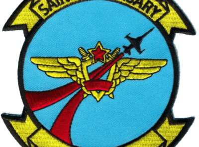 VFC-13 Saints (Blue) Squadron Patch – Plastic Backing