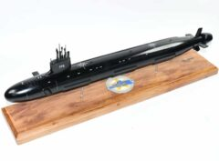 USS Texas (SSN-775) Submarine Model