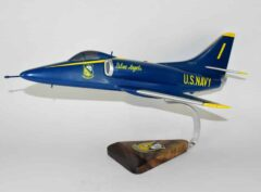 Blue Angels A-4 Skyhawk Model