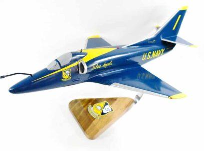 Blue Angels A-4 Skyhawk Model