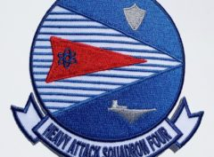 VAH-4 Four Runners Squadron Patch – Plastic Backing