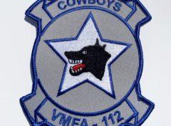 VMFA-112 Cowboys Patch – Plastic Backing
