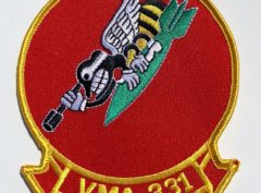 VMA-331 Bumblebees Patch – Plastic Backing