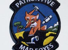 VP-5 Madfoxes Squadron Patch – Plastic Backing