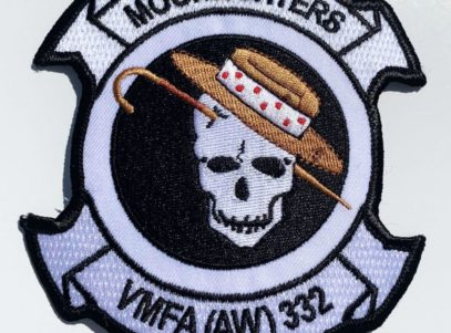 VMFA(AW)-332 Moonlighters Patch – Plastic Backing