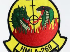 HMLA-269 Gunrunners Patch – Plastic Backing