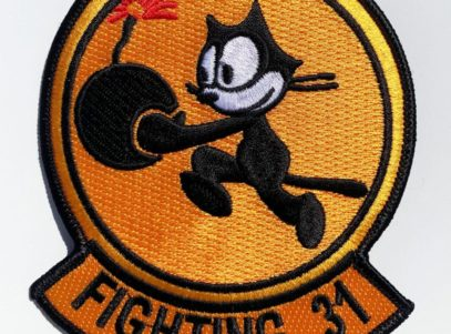 VFA-31 Tomcatters Squadron Patch – Plastic Backing