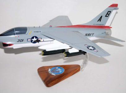 VA-46 Clansmen A-7b Corsair II (1975) Model