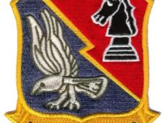 VA(AW)-33 Knight Hawks Squadron Patch – Plastic Backing