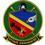 VA-195 Dambusters Squadron Patch – Plastic Backing