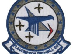 VC-2 Blue Falcons Squadron Patch – Plastic Backing