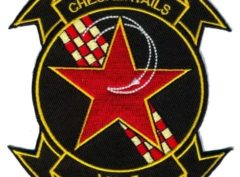 VC-5 Checkertails Squadron Patch – Plastic Backing