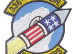 336th Fighter Squadron Rocketeers Patch – Plastic Backing