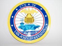 USS John C. Stennis (CVN-74) Plaque